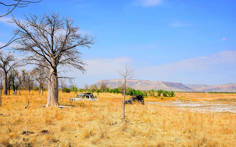 Paysage des Kimberley au Nord de l'Australie