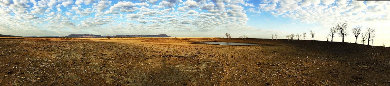 Panorama des Kimberley depuis Diggers Rest Station dans le nord de l'Australie