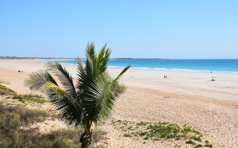 Broome Cable Beach plage paradisiaque en Australie