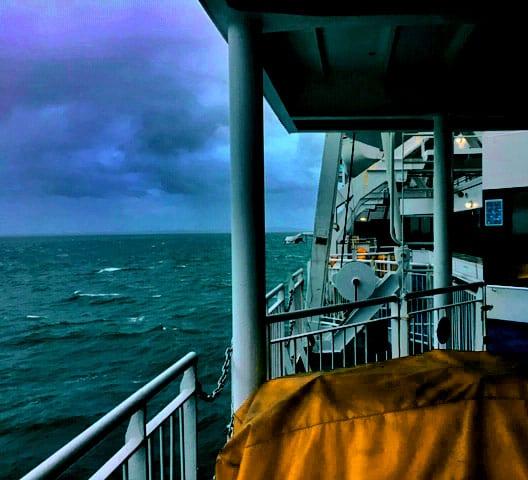 Ferry entre Melbourne et Devonport pour aller en Tasmanie.