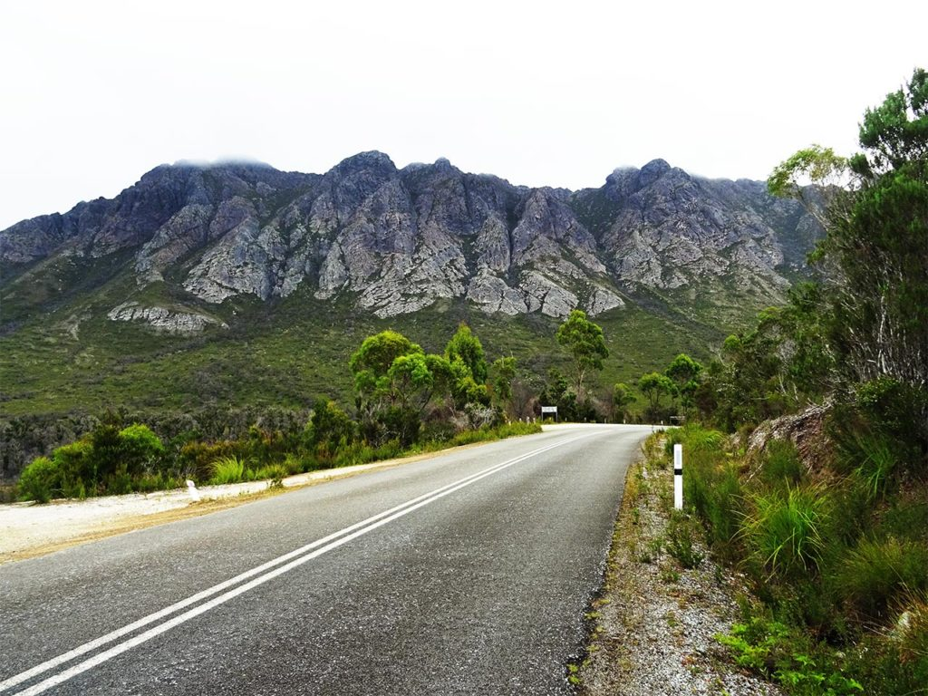 Photo route montagne road trip Australie