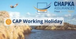 CAP Working Holiday assurance voyage Chapka affiliation globefreelancers