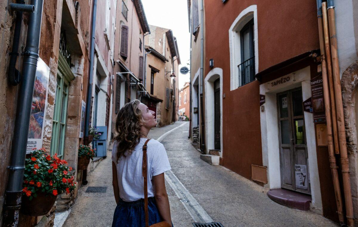 Roussillon, les ocres de Provence, un des plus beaux villages du Luberon