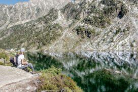 Lac d'Estom randonnée depuis la Fruitière