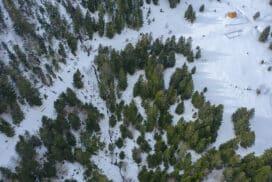 Randonnée dans le Val d'Azun en raquettes