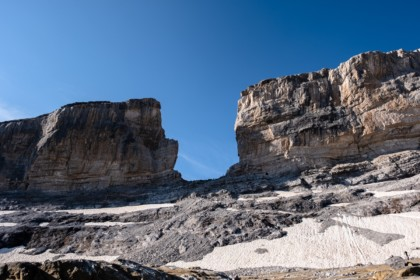 La brèche de Roland dans les Hautes Pyrénées