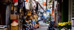 Ruelles d'Ho Chi Minh, typiques du Vietnam