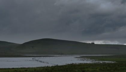 Photo paysage du plateau de l'Aubrac